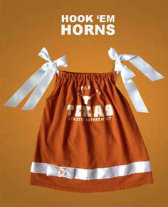 If a ever have a daughter she will wear this! Texas Longhorns by keepsakekidz on Etsy Football Sayings, Texas Longhorns T Shirts, Hook Em Horns, Football Cheerleaders, Sports Mom, Niece And Nephew, First Baby, Sport Girl, Toddler Fashion