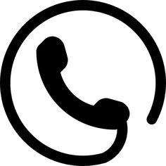 telefon-symbol-einer-ohr-mit-kreisformigen-schnur-um_318-49659.jpg (626×626)