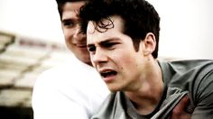 Can we just take a moment for Scott holding a distraught Stiles: