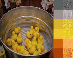 Rubber Ducks #ColorPlayFriday #123quilt #color #palette #colorpalette http://123quilt.blogspot.com/2016/06/color-play-friday-rubber-ducks.html