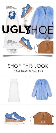 """""""😝"""" by schirm ❤ liked on Polyvore featuring Topshop, THP, STELLA McCARTNEY, Vince Camuto and NEST Jewelry"""