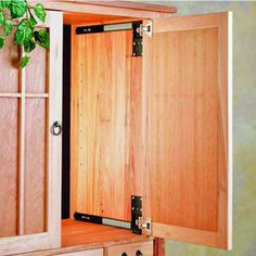 Door KIT - Able to fit in entertainment centers, wall units, and cabinets, this Accuride CB123/1234 by Hafele is for concealed doors. The Pocket Door System has a maximum weight capacity of 13.6 kg (30 lbs.) and is made of steel with a black finish.