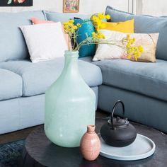 Trendhopper ● met een stel kussens en accessoires in frisse pasteltinten breng je eenvoudig kleur in je interieur.