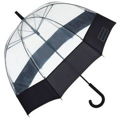 Hunter Black Bubble Umbrella