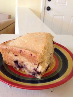 Dairy Free Egg Free Blueberry Pound Cake