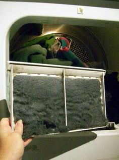 How to Make Fake Moss for Halloween Tombstone Props: Do a Load of Laundry & Collect the Dryer Lint