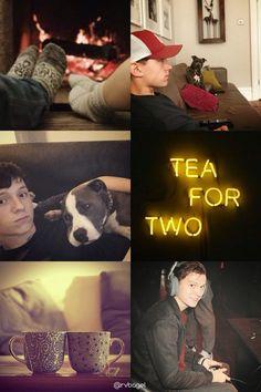 Tom Holland + Burgundy & Yellow