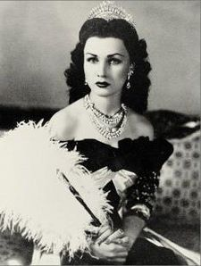 Princess Fawzia was Queen of Iran and a princess of Egypt