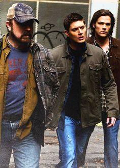 Sam, Dean, and Bobby  #Supernatural