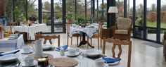 Enjoy breakfast in the conservatory