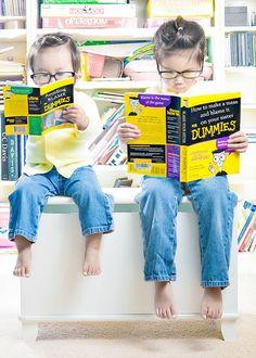 Kreativer Vater   2 kreative T�chter = Kreative Fotos