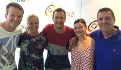 Enjoying a few laughs at Perth's Mix 94.5