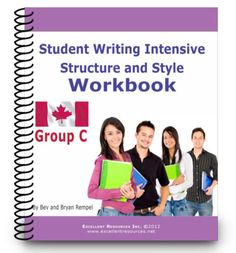 Student Writing Intensive: Group C set (Grades Learning To Write, Teaching Writing, In Writing, Structural Model, Writing Courses, Vocabulary, Texts, High School, Presentation