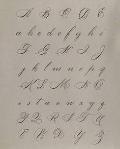 Capital and lowercase alphabet ° ° ° ° Modern Calligraphy Alphabet, Pencil Calligraphy, Calligraphy Letters Alphabet, Tattoo Fonts Alphabet, Handwriting Alphabet, Tattoo Lettering Fonts, Hand Lettering Alphabet, Calligraphy Handwriting, Lettering Styles