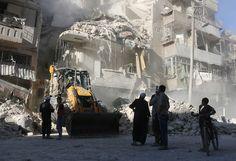 U.S. Russia Wrangle Over Aleppo as Bombs Threaten Deeper Rift - Bloomberg