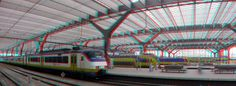 https://flic.kr/p/24KCarE   Rotterdam Centraal 3D GoPro   anaglyph stereo red/cyan