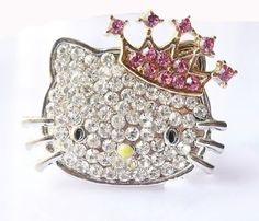 $19.99 Hello Kitty Crystal Crown Ring in Kitty Gift Box  From Hello Kitty   Get it here: http://astore.amazon.com/ffiilliipp-20/detail/B007RSHFZQ/179-8473044-9430942