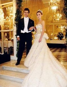 Lauren Bush at the Debutante Ball at Hotel Crillion, Paris 2000
