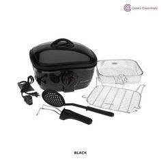 Cook's Essentials 8-in-1 Nonstick Deep Fryer & Slow Cooker - Assorted Colors (16) Reviews