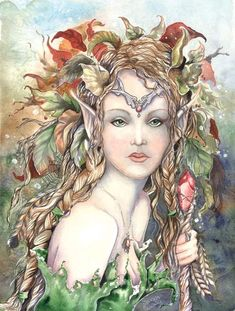watercolor fantasy and fairy art by Sarah Pauline, painter of winged dreams and unseen things Fairy Dust, Fairy Land, Fairy Tales, Magical Creatures, Fantasy Creatures, Fantasy Kunst, Fantasy Art, Fantasy Fairies, Kobold