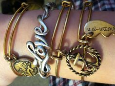 Alex and Ani - I MUST own the Love bracelet!!!