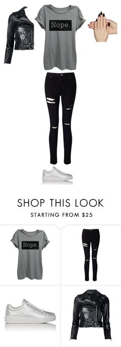 """""""Untitled #175"""" by autumn1212 ❤ liked on Polyvore featuring Miss Selfridge, Prada Sport, R13 and Static Nails"""