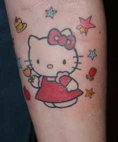 28 hello kitty tattoo design