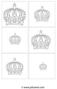 Order from smallest to largest. Colouring Pics, Adult Coloring, Chateau Moyen Age, Petunia, Royal Craft, String Art Templates, Royal Party, Queen Birthday, Arts And Crafts
