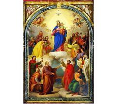 Cuadro central de Maria Auxiliadora