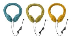 Las Teje y Maneje: CROCHETED HEADPHONES