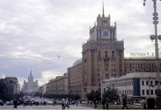 Moscow in 1963: Vintage photographs by Gerald Bloncourt - 27