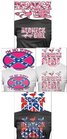 Redneck Girls T-shrts