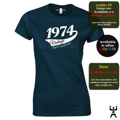 40th birthday t shirt ideal gift for her whether she's a best friend niece or favorite girl. Awesome 40th birthday gift by Utter Apparel