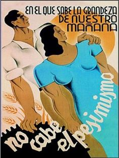 Spanish revolutionary poster. Civil War 1936/39 by lola