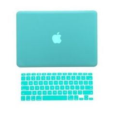 TopCase® 2 in 1 Rubberized TIFFANY BLUE Hard Case Cover and Keyboard Cover for Macbook Pro or without Thunderbolt) with TopCase® Mouse Pad. Bought this exact case for my MacBook. Macbook Pro Cover, Macbook Pro 13 Inch, Laptop Covers, Keyboard Cover, Macbook Case, Laptop Case, Computer Cover, Keyboard Stickers, Macbook Stickers