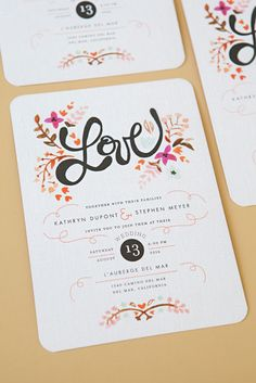 DIY Wedding // Embellish your 'store bought' wedding invitations with pearl stickers like this!