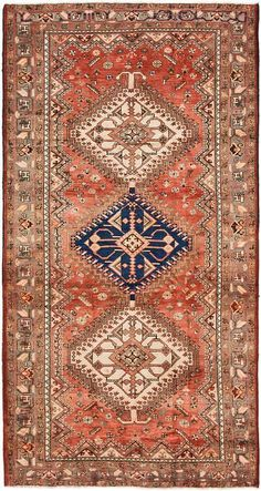 Peach Sirjan Area Rug