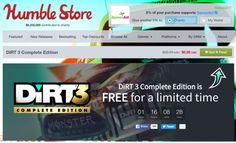 Cara Download Gratis Game Steam DiRT 3 Complete Edition (Giveaway ...