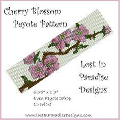 Peyote Bracelet Pattern Cherry Blossom (Buy 2 get 1 Free)