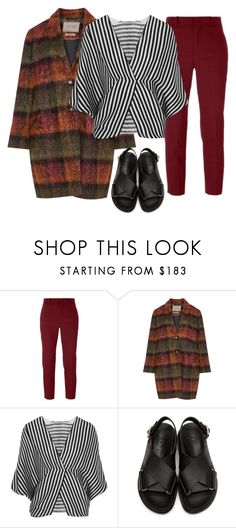 """""""Cozy style"""" by shirley-shiguango-l ❤ liked on Polyvore featuring Étoile Isabel Marant, Open End, Etro, Marni, coat, fashionset and polyvoreeditorial"""