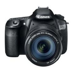 Canon Digital SLR Camera EOS with / Lens Kit - International Version. APS-C CMOS sensor. frames per second continuous shooting. HD video recording with manual controls. inch articulated Clear View LCD with dots. Canon Eos, Canon Dslr, Nikon, Best Digital Slr Camera, Canon Digital, Digital Cameras, Standard Zoom Lens, Camera Comparison, Camera Prices