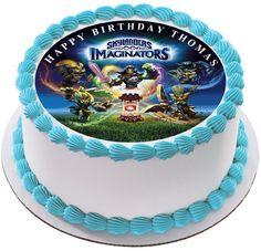 Skylanders Imaginators Edible Birthday Cake Topper