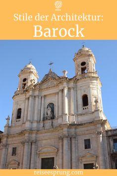 Barock als Architekturstil erkennen: Heute gibt es eine kurze Zusammenfassung des Barock mit Hinweisen, wie du den Barock als Architekturstil erkennen kannst. #ArchitekturBarock #StileArchitekturBarock #ReiseArchitektur #UrlaubBarock
