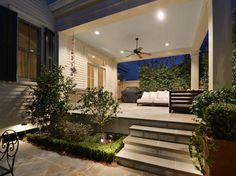 Shotgun Style - traditional - patio - new orleans - Brian Gille Architects, Ltd.