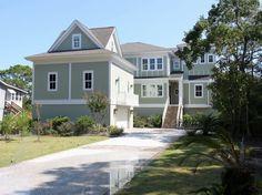 House vacation rental in Folly Field from VRBO.com! #vacation #rental #travel #vrbo