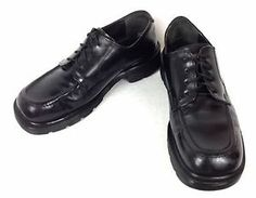 Dr Martens Shoes Leather Black England Hipster Emo Creeper Oxford Mens US 9 UK 8 | eBay