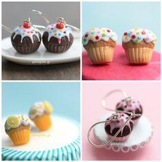 Cupcake Jewelry in June :) by PetitPlat.deviantart.com