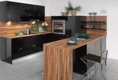 Schwarze Küche von Nobilia / black kitchen by Nobilia