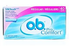 o.b. pro comfort - 40 count Case of 3
