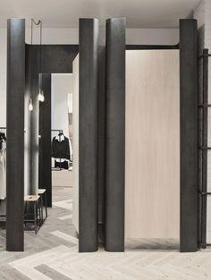 dressing room design | retail